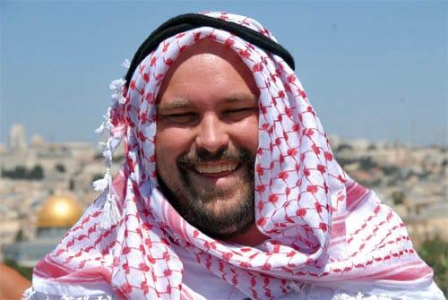 Happy sheik