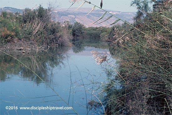 The Jordan River, circa 1971.