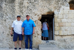 At the Garden Tomb, Jerusalem, Israel,