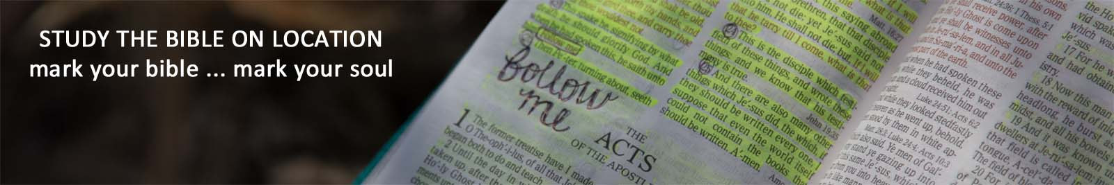 Study the Bible header image