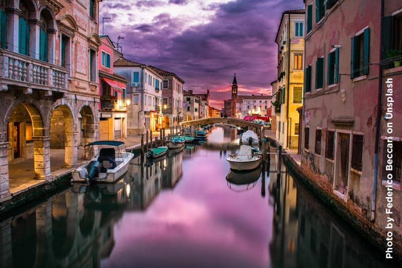 Photo of Venice Canal.